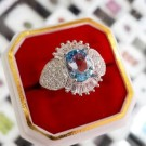 "CP-Blue Topaz ""love"""