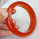"Gelang giok ""orange 03″"
